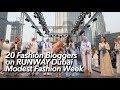 20 Fashion Bloggers on Runway Dubai Modest Fashion Week