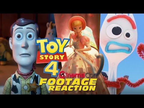 Play TOY STORY 4: First 17 Minutes Reaction - CinemaCon 2019