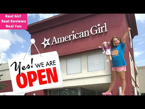 American Girl Store Is Open Again After Shutdown!  Let's Go!