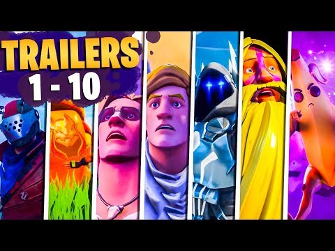 Fortnite Todos Los Trailers (Temporadas 1 - 10)