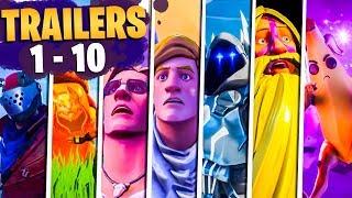 Fortnite Todos Los Trailers (Temporadas 1 - 10)