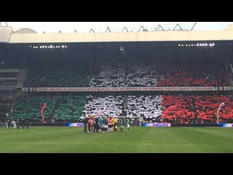 PSV Support: Tifo Andrés Guardado : Nuestra águila De Oro Mexicana : La bandera de México