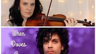 WHEN DOVES CRY by PRINCE | EASY Violin Tutorial Tribute