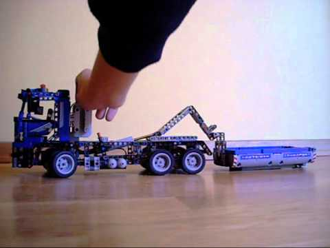 Lego Technic Container Truck 8052 New Set Youtube