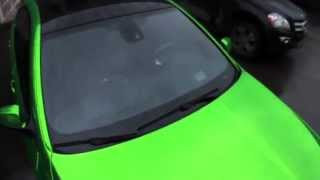 BMW 5 M ЗЕЛЕНАЯ зеркальная пленка chromeedition GREEN CHROME(BMW 5 M ЗЕЛЕНАЯ зеркальная пленка chromeedition GREEN CHROME., 2013-03-25T13:56:33.000Z)