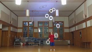 Video sponsored by Cathedrals! The new Halo juggling rings are grea...