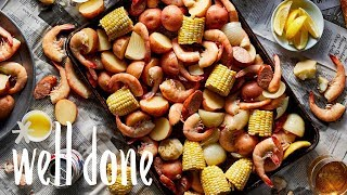 How To Make Slow Cooker Shrimp Boil | Recipe | Well Done