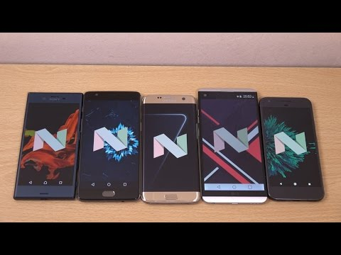 The many flavours of Android 7.0 Nougat!