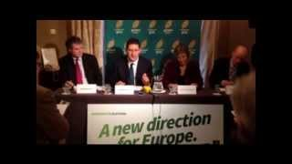 Green Party European campaign launch