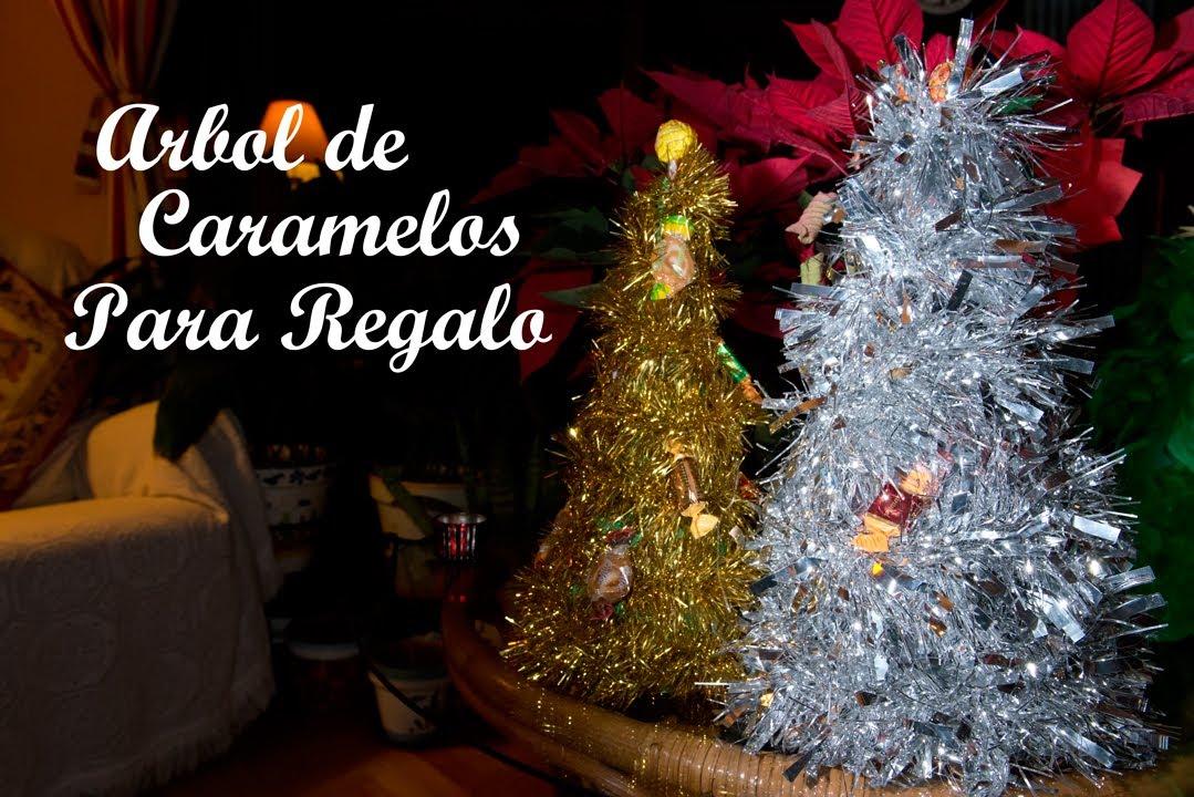 Arbol de navidad de caramelos o chuches para regalo youtube - Arbol de navidad con regalos ...