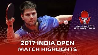 2017 India Open Highlights: Dimitrij Ovtcharov vs Tomokazu Harimoto (Final)