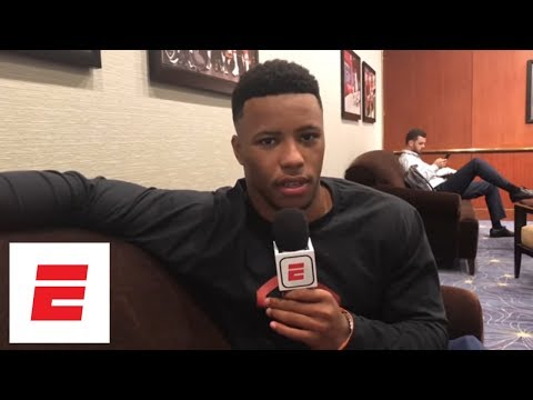 Saquon Barkley on his favorite hype music before games: 'I love Cardi B' | ESPN