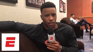 Saquon Barkley on his favorite hype music before games: