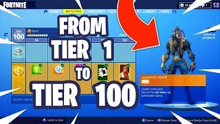 Fortnite Biggest Glitch in Season 6 (Get Tier 100 in 2 Minutes)