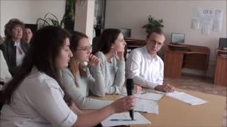 Открытый урок. Английский язык. 11 А класс. Преподаватель Медолович В.А.