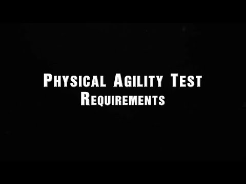 Physical Agility Test Requirements | Houston Police Department