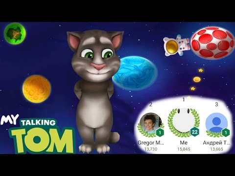 My Talking Tom - Planet Hop  Game [WORLD RECORD] Gameplay HD