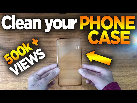 Clean your Phone Case / Mobile Cover *SIMPLE AND EASY* Best Method