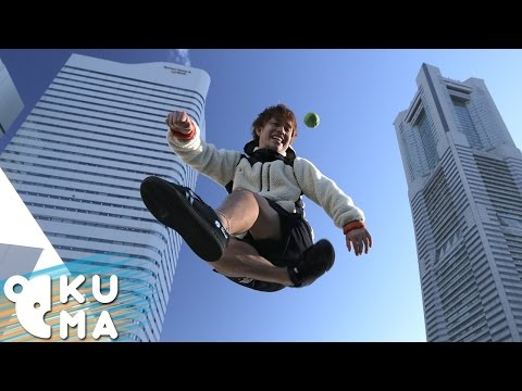 How To Hacky Sack With A Footbag World Champion!