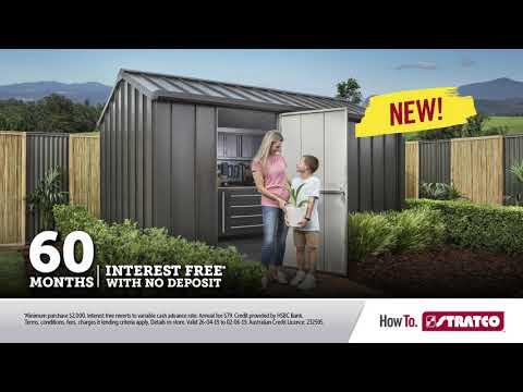 NEW Handi-Hilander Shed | 60 months Interest Free
