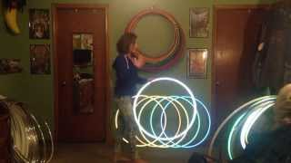 High Intensity Reflective Hula Hoops - How Do They Work?