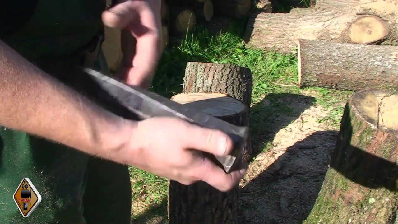 Holz Spalten Wie Basics Und Tipps Fur Anfanger Von M1molter Youtube