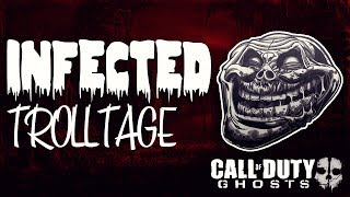 COD: Ghosts Infected Trolltage! (Call of Duty Ghosts Trolling/Funny Moments)