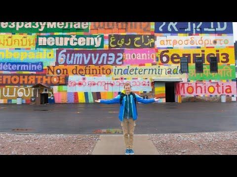 Street Art museum in Saint Petersburg - vlog episode 011 - August 14th 2016