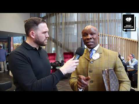 Boxing Interview - Chris Eubank Snr Exclusive
