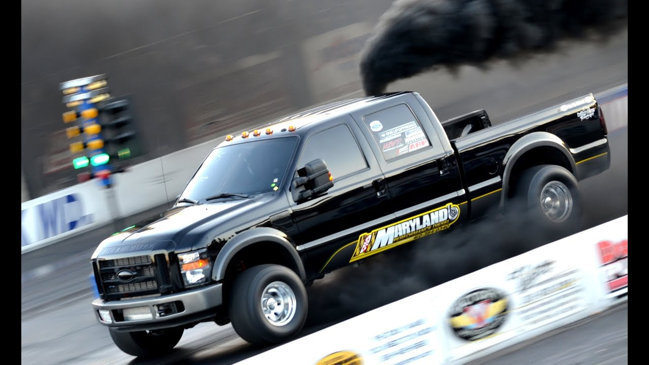 All Out Diesel Performance >> 7 Polar Bears Just DIED! 10 Second Diesel Drag Race - YouTube