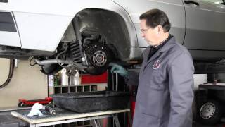 Mercedes Disk Brake Service and Repair Tips with Kent Bergsma