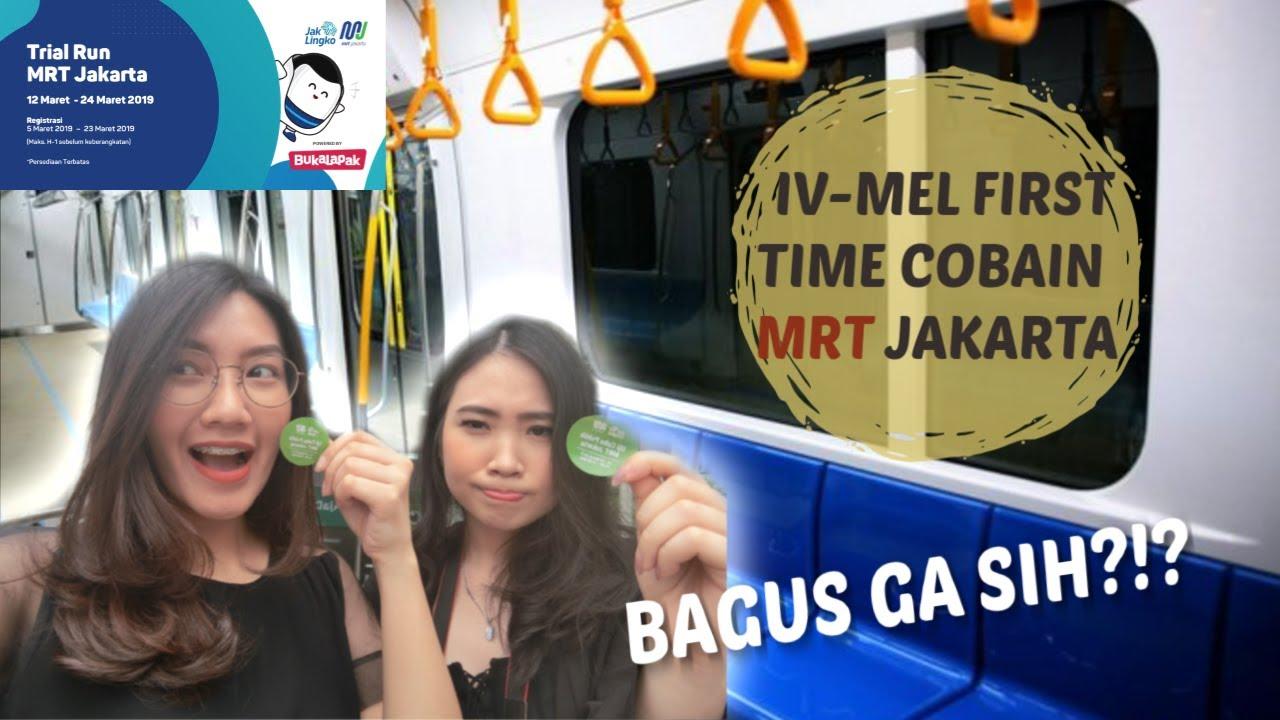 Uji Coba Mrt Jakarta Gratis 2019 Sampe Merinding Liatnya Youtube