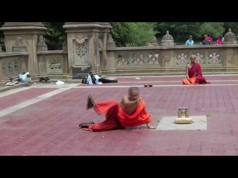 monks breakdance