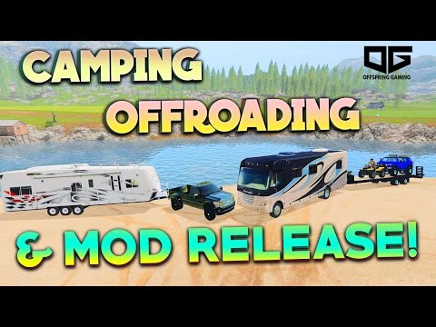Farming Simulator 17 - Camping, Offroading, and Mod Releases |CONVERSION TUTORIAL|