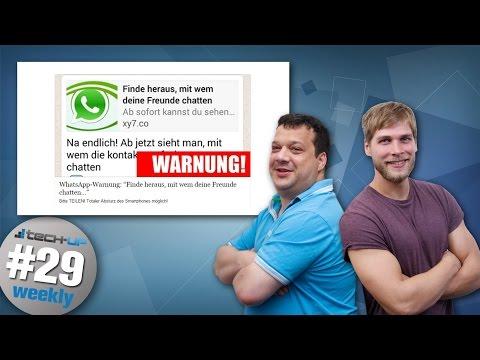 Whatsapp-Virus zerstört Smartphone | Smartphone-Akku soll 2 Wochen halten – Tech-up Weekly #29