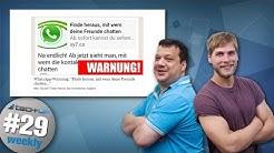 Whatsapp-Virus zerstört Smartphone | Smartphone-Akku soll 2 Wochen halten - Tech-up Weekly #29