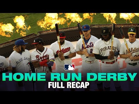 Alonso tops Vlad Jr. to win Home Run Derby | Home Run Derby Highlights 7/8/19