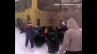 التزلج,على,الثلج,في,الجزائر,