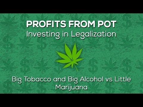 Big Tobacco and Big Alcohol vs Little Marijuana