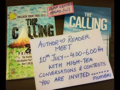 Priya Kumar—The Calling, Author Reader Meet in Mumbai