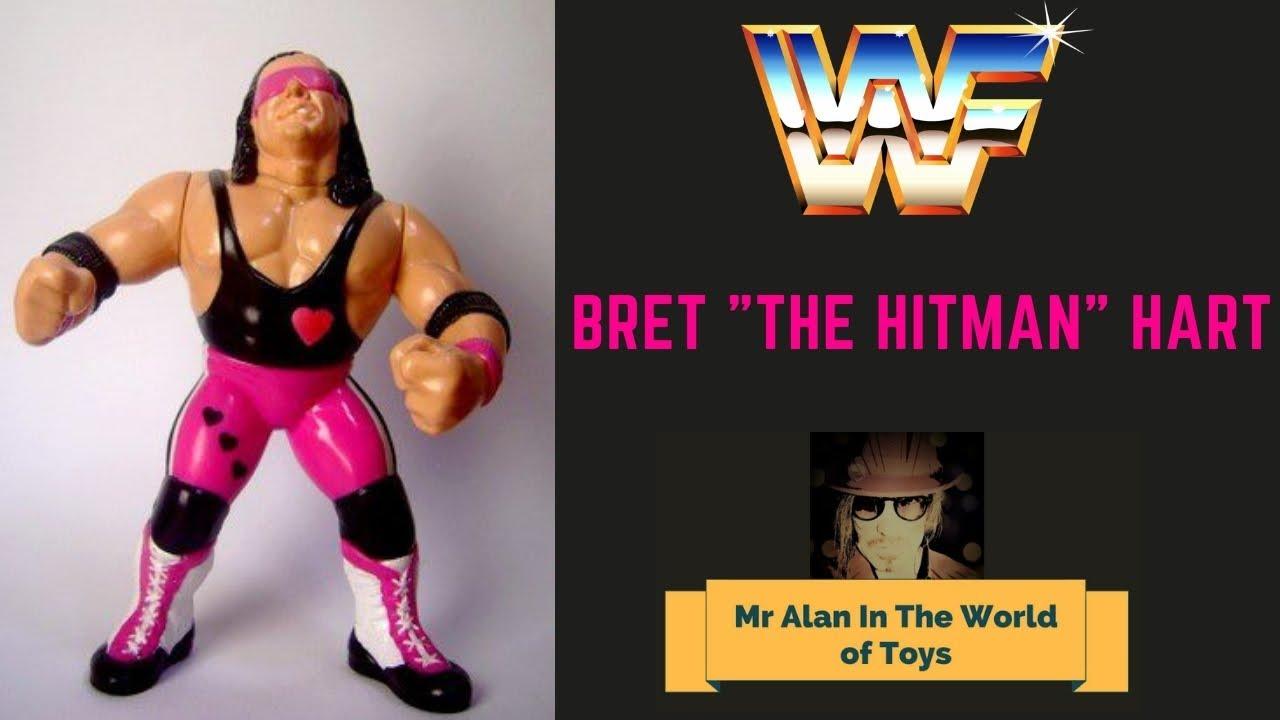 Wwf Hasbro Action Figure Bret The Hitman Hart Review Youtube