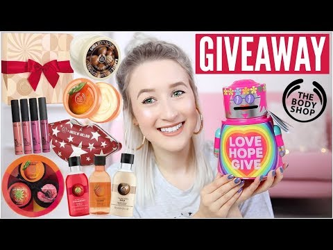 Christmas Gift Guide + GIVEAWAY! The Body Shop AD