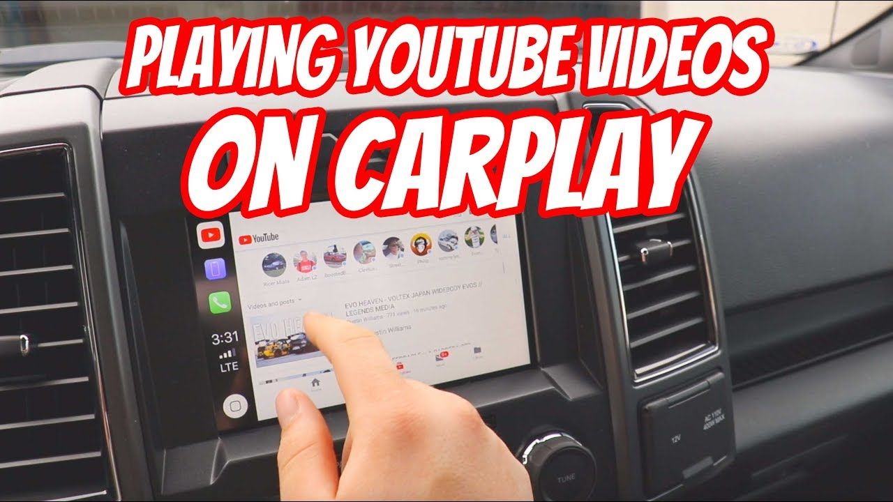 How to Play YouTube Videos on Apple Car Play - YouTube