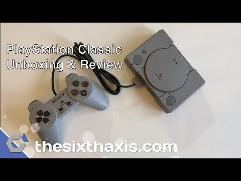 PlayStation Classic Review – TheSixthAxis