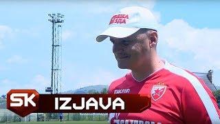 Trener Crvene Zvezde Nikola Puača Nakon Poraza od Sarajeva   SPORT KLUB Kup Prijateljstva 2018