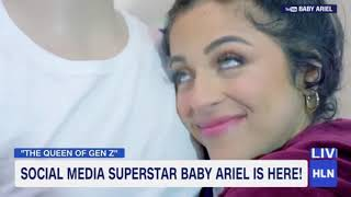 BABY ARIEL DREAMING OUT LOUD BOOK SIGNING AND LIVE INTERVIEWS