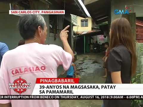 Download Balitang Amianan: Magsasaka, Patay sa Pamamaril
