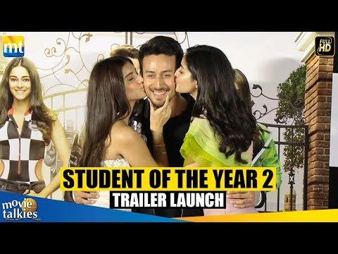 Student of the Year 2 Trailer Launch FULL HD Video | Tiger Shroff, Tara Sutaria, Ananya Pandey