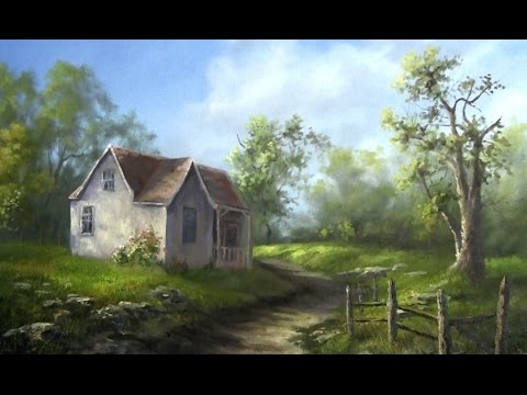 oil-painting-old-farm-house---paint-with-kevin-hill