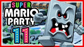 SUPER MARIO PARTY # 11 🎲 Wummp-Domino-Ruine Endstand! [HD60] Let's Play Super Mario Party